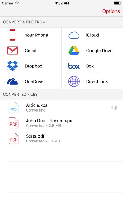 XPS to PDF Converter - Convert XPS files to PDF by Cometdocs Inc - Convert File To Pdf