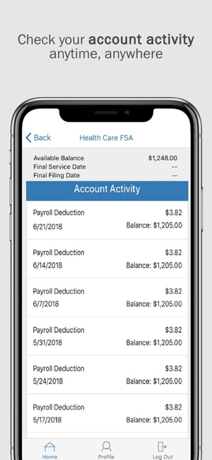 Paychex Benefit Account on the App Store