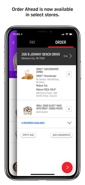 SONIC Drive-In on the App Store