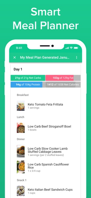Carb Manager Keto Diet App on the App Store