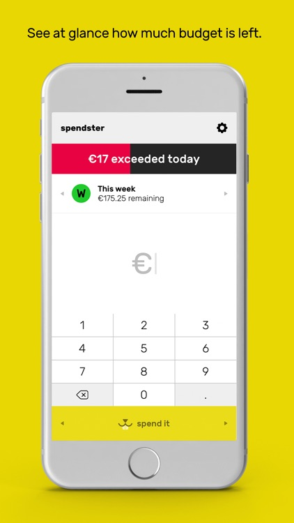 spendster - Keep track of your daily spending by Mikko Nylen