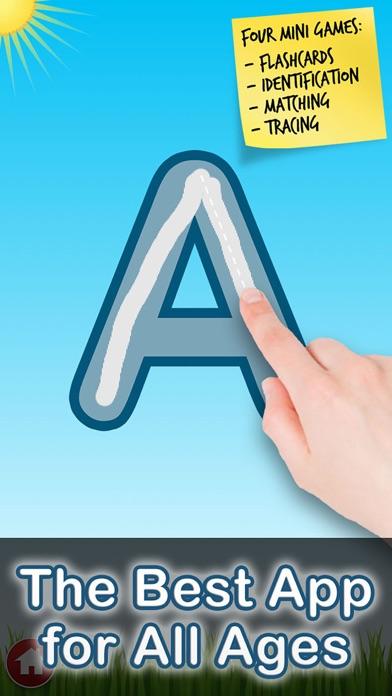 Letter Quiz Lite ABC Tracing by Tantrum Apps (iOS, United Kingdom