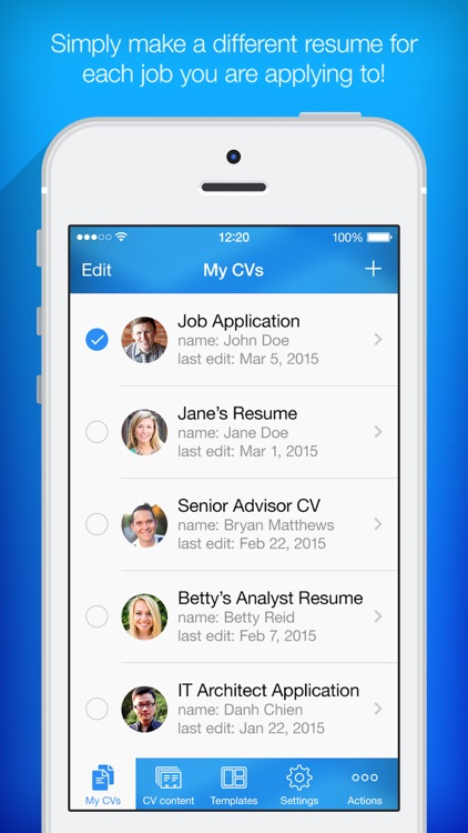 Resume Builder, Resume Creator by PocketSoft LLC