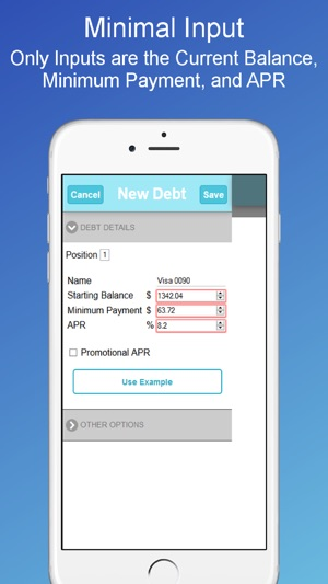 Debt Payoff Planner Calculator on the App Store