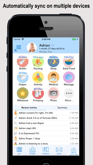 Baby Connect (Activity Log) on the App Store