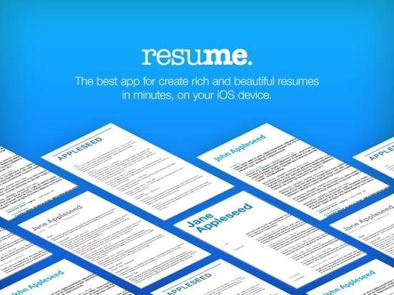 Resume Builder, Resume Creator App Price Drops - Resume Creator