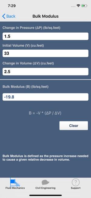 Fluid Mechanics Calculator on the App Store