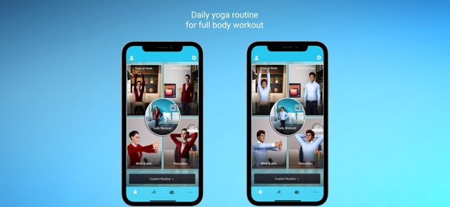 Office Yoga Pro Fitness @ Work on the App Store
