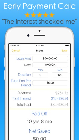Student Loans Calculator - Debt Payoff Tracker Vue on the App Store