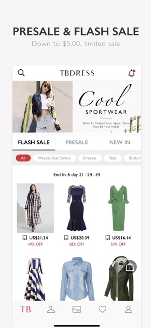 Tbdress Shop Fashion  Trends on the App Store