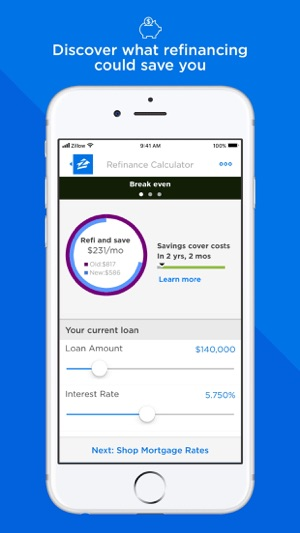 Mortgage by Zillow on the App Store