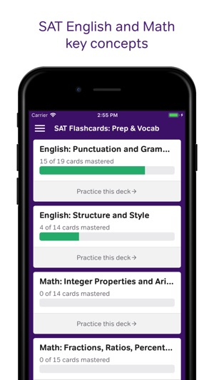 SAT Flashcards Prep  Vocab on the App Store - vocab flashcards