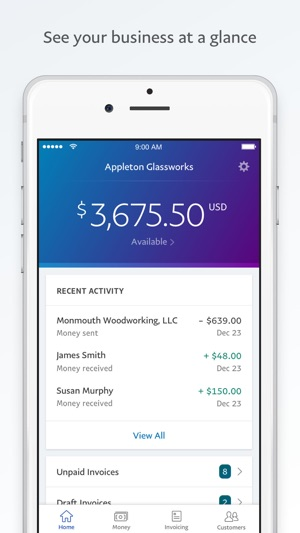 PayPal Business Send Invoices on the App Store