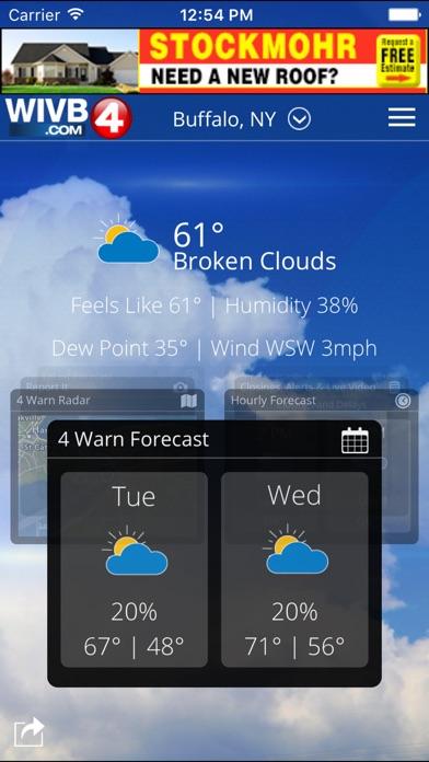 4 warn weather buffalo ny forecast 10