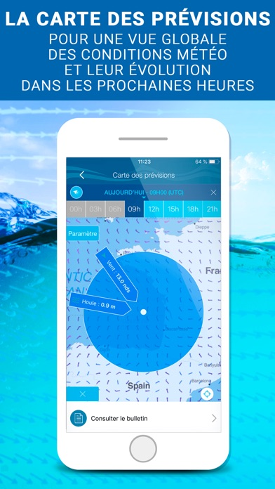 Météo Marine - by METEO CONSULT - Weather Category - 21 Features