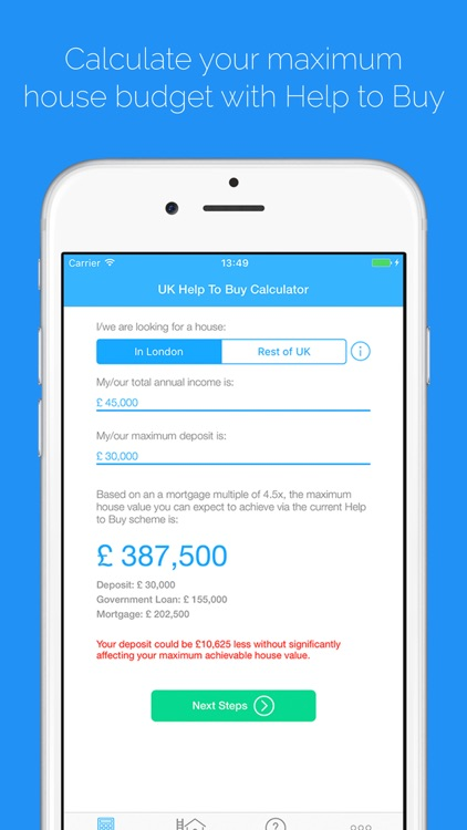 Help to Buy Calculator UK by Edward Beecroft