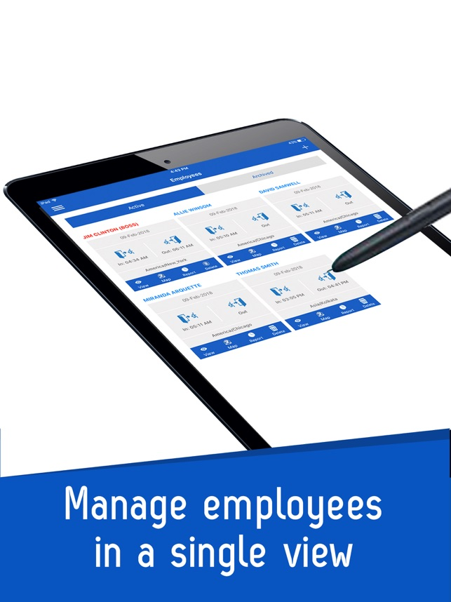 iTimePunch Work Hours Tracker on the App Store - vacation tracker app