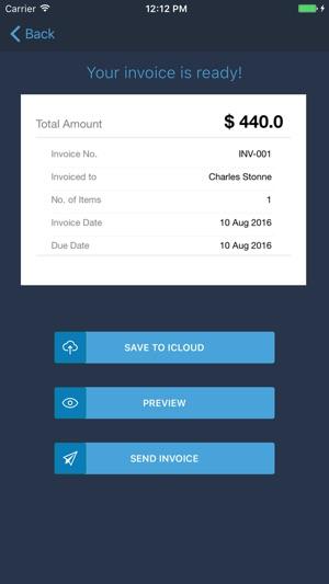 Invoice Generator - Zoho on the App Store - invoice generator