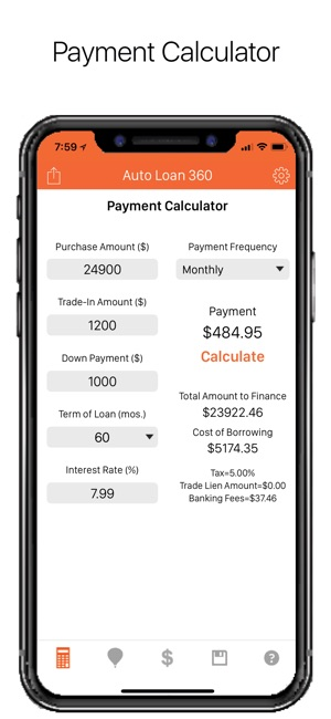 \u200eAuto Loan Calculator 360