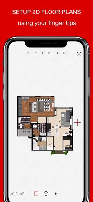 Roomle 3D  AR room planner on the App Store - new best blueprint maker app