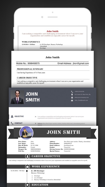 Resume Creator Pro CV Designer by Bacancy Technology
