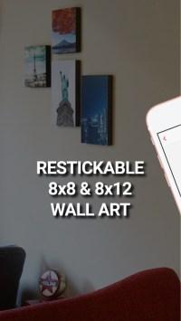 Printage: Stickable Canvas Art by Printage inc.
