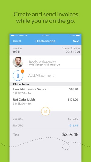 Viewpost Invoice on the App Store - invoice web app