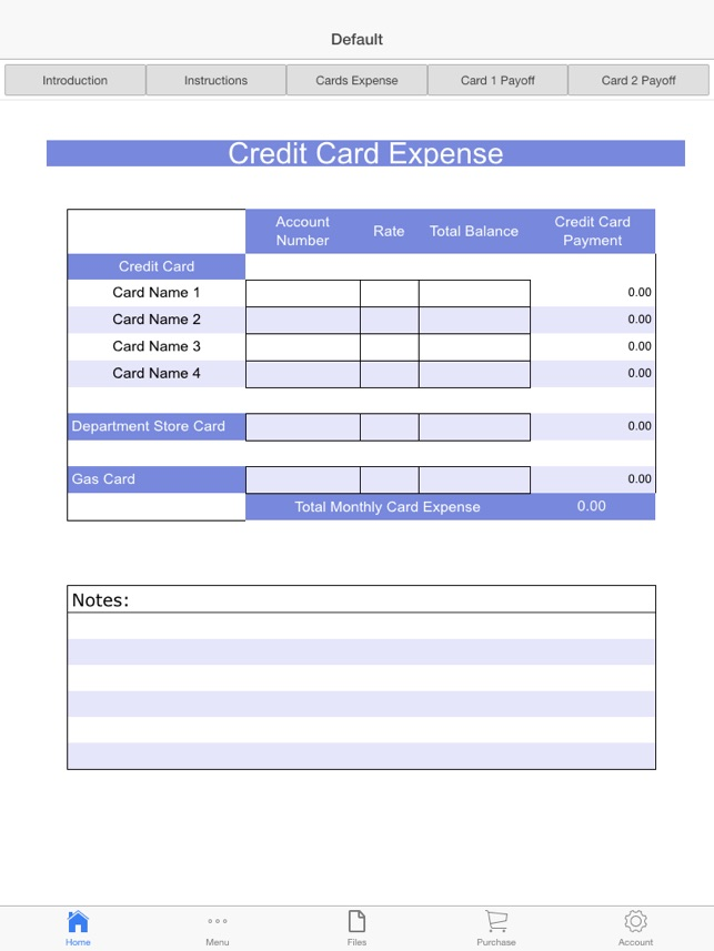 Credit Cards Payoff Calculator on the App Store