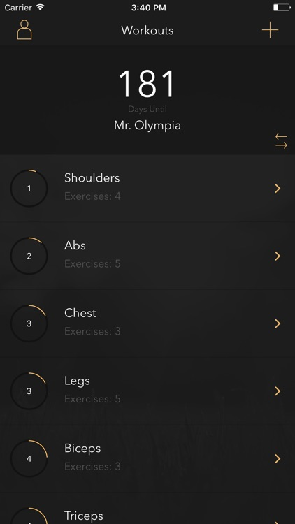 Gym Planner - Create and track your workouts by Tim Johansson