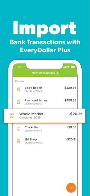 EveryDollar Easy Budgeting App on the App Store
