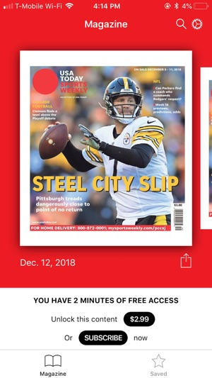 USA TODAY Sports Weekly on the App Store