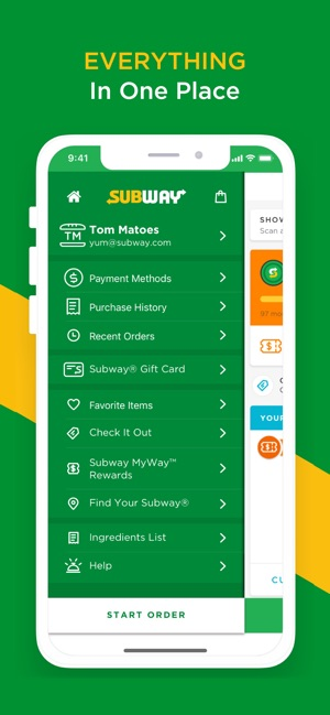 SUBWAY® on the App Store