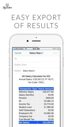 UK Salary Calculator - 2019/20 on the App Store