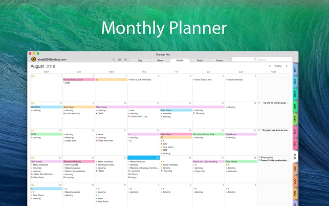 Planner Pro - Daily Calendar on the Mac App Store