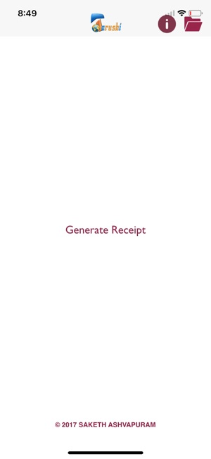 Make a Receipt on the App Store - how do you make a receipt