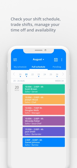 Sling - employee scheduling on the App Store