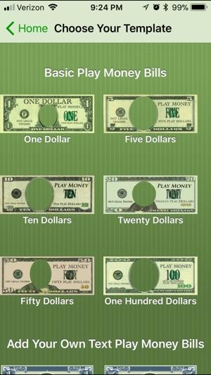 Play Money Creator on the App Store