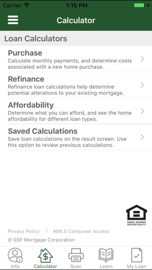 GSF Mortgage on the App Store