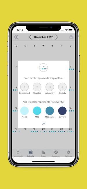 eMoods Bipolar Mood Tracker on the App Store - mood chart form
