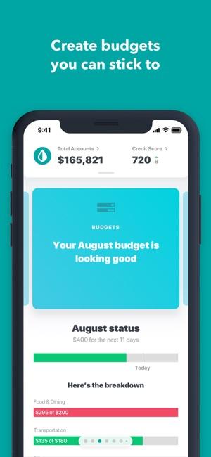 MintPersonal Finance  Money on the App Store