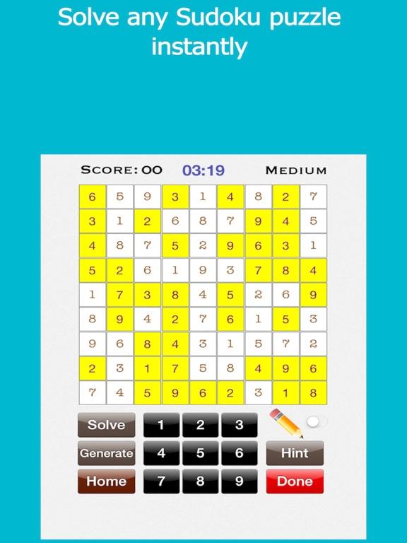 Sudoku  Solve Sudoku Puzzles by Aditya Mohata