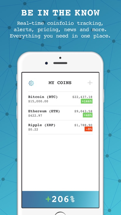 Crypto Tracker  Price Alerts by RTC Holdings Incorporated