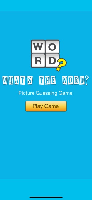 What\u0027s the Word? Guessing Game on the App Store