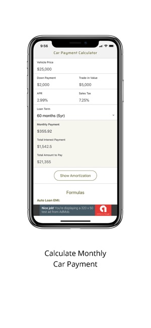 Car Payment Calculator Monthly on the App Store