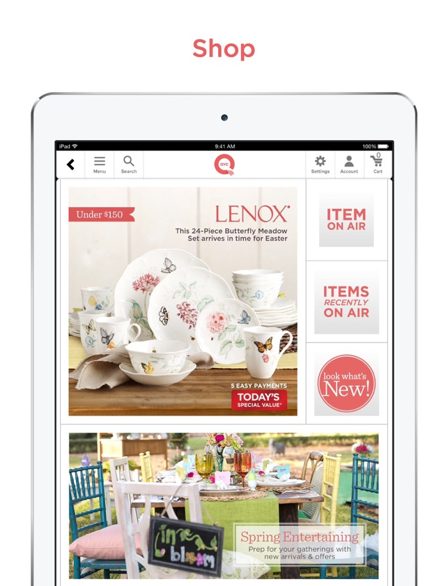 QVC for iPad on the App Store
