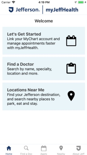 myJeffHealth on the App Store