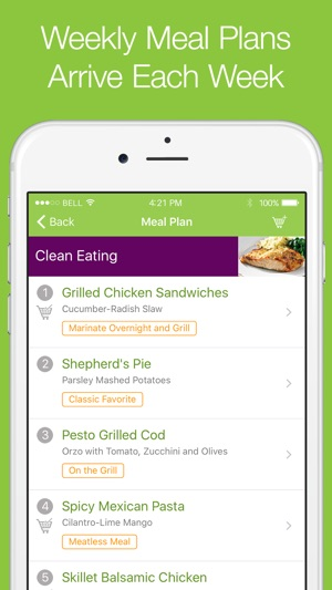 eMeals - Healthy Meal Plans on the App Store