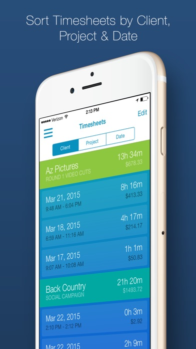 Time Tracker - Time is Money - App - Mobile Apps