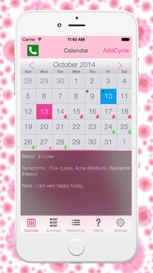 Menstrual Period Tracker - Fertility  Ovulation Tracker and Period