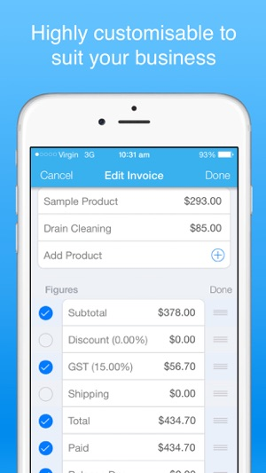 invoice maker pro - Create invoices on the go free on the App Store